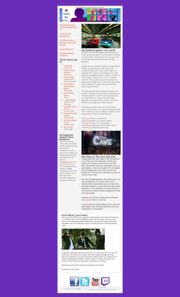 Letterpret met Great Minds, Gameloft games van E3 en meer!